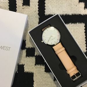 PiperWest Accessories - New PiperWest Classic Minimalist silver face watch